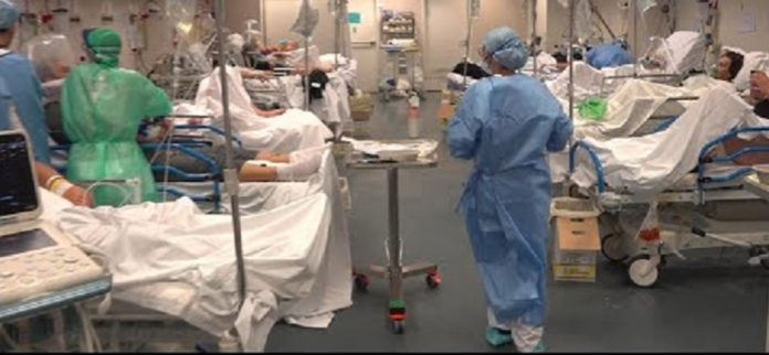 Covid 19 spital aglomerat