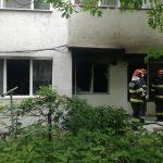 Explozie apartament zona Cotnari