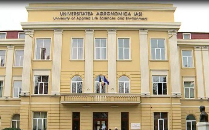 """Universitatea de Științe Agricole și Medicină Veterinară """"Ion Ionescu de la Brad"""" din Iasi"""