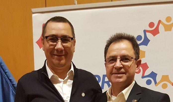Victor Ponta si Gheorghe Pandelea