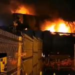 incendiu Romstal