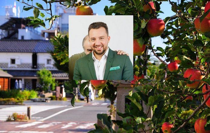 montaj Vlad Baba si pomi fructiferi in oras