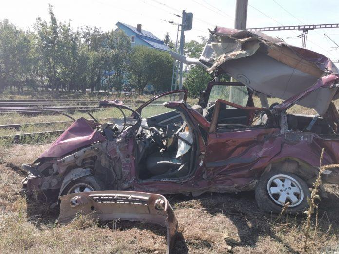 accident de tren la Pascani