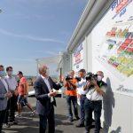 Maricel Popa si liderii PSD la Spitalul de la Letcani