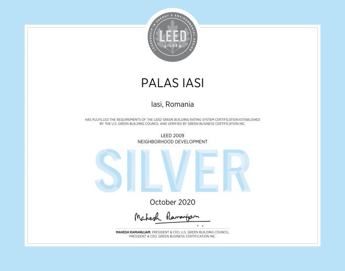 Palas Iasi LEED Neighborhood Development Silver