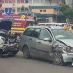 accident b-dul Nicolae Iorga