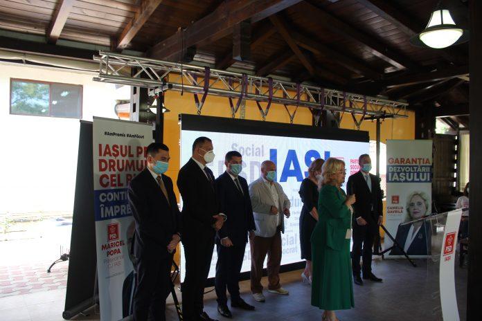 candidati PSD Iasi parlamentare