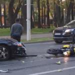 motociclist accidentat Copou