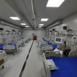 Spitalul Covid de la Letcani