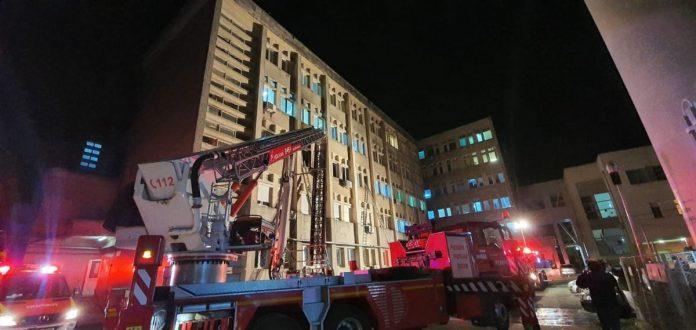 incendiu spital Piatra Neamt