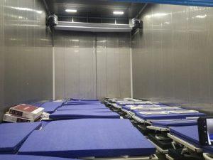 paturi abandonate spital Letcani