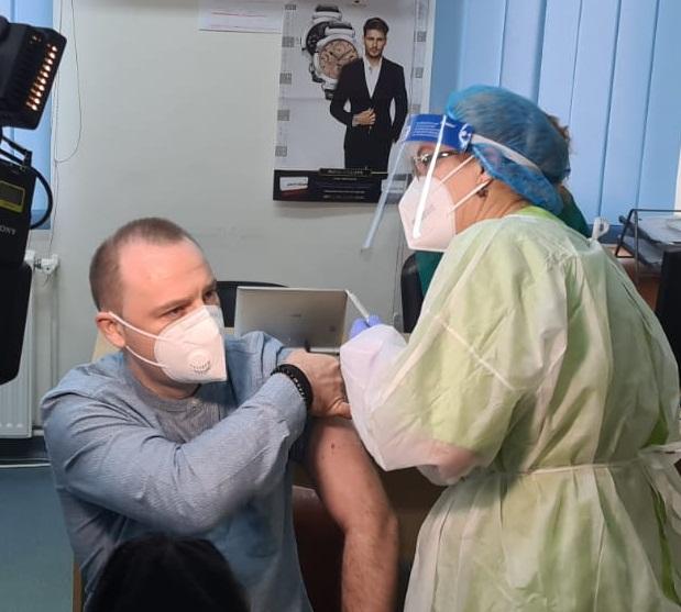Florin Rosu vacinare anti-Covid-8