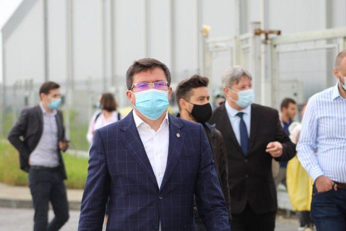 Costel Alexe la Spitalul Covid de la Letcani