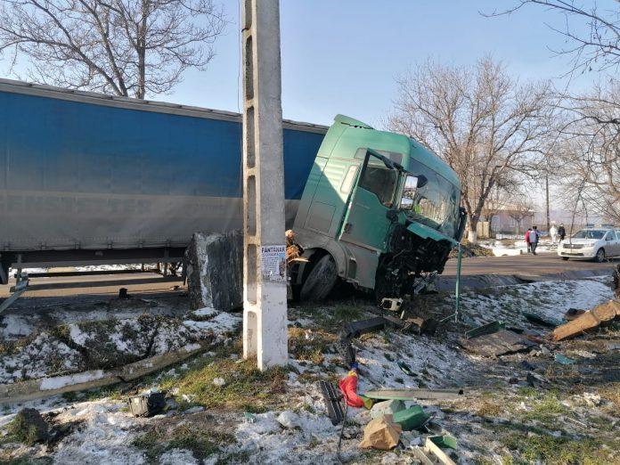 accident TIR - Scanteia-