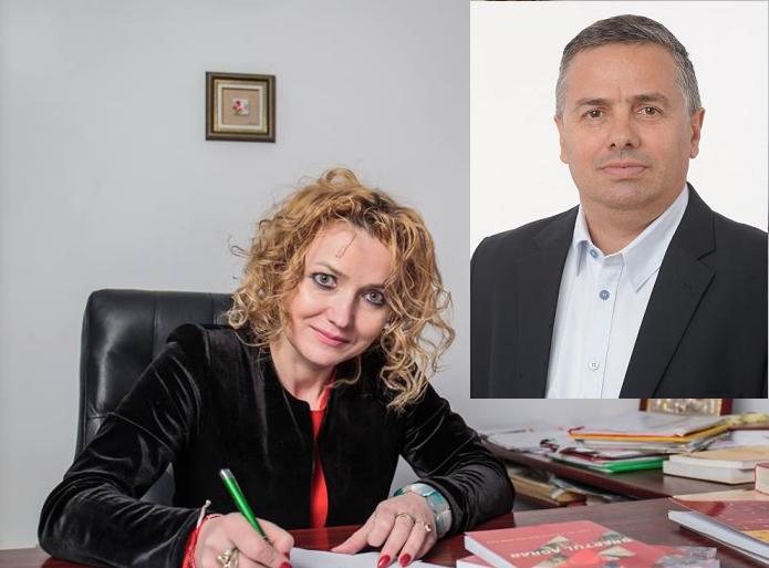 Carmen Mariana Diaconu si Petru Movila