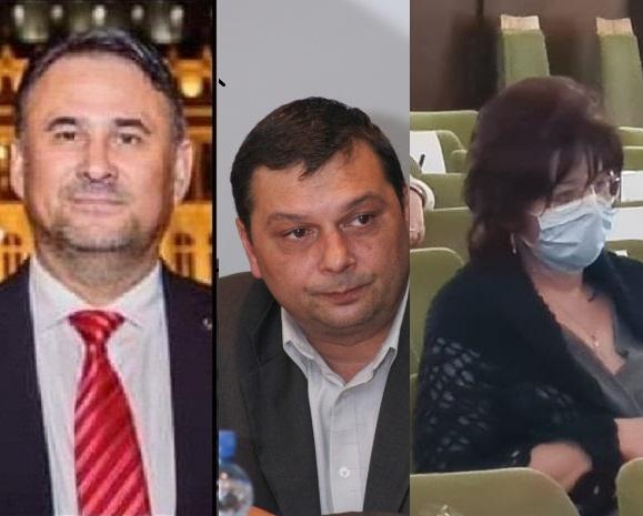 Liviu Vornicu, Ioan Stoian, Elena Arvinte montaj