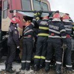 masina lovita de tren la Vladeni-3