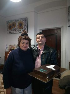Leonard Calin si sotia sa Lucia Dorelia