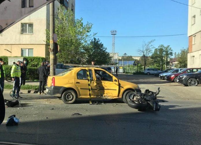accident motocicleta Canta