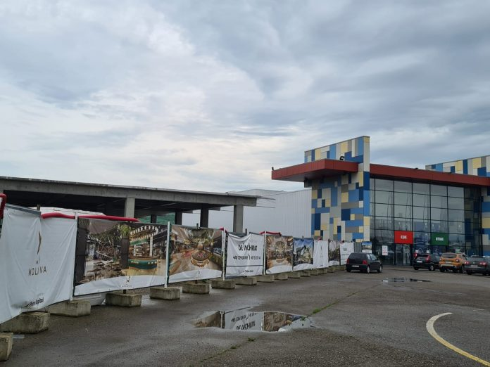 Mall Moldova-santier