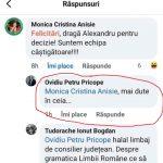 postare Oviviu Pricope injuratura Monica Anisie