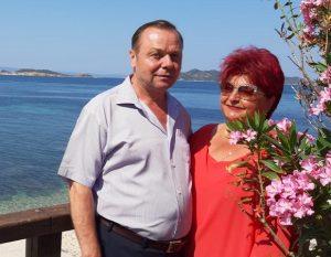 Vasile si Maria Macovei-Granit